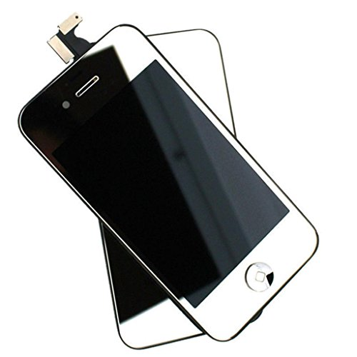 Sagrun Sliver Plated Mirror Lcd Screen, Digitizer And Back Cover For Iphone 4S Gsm Att Only(Not For 4G Or Verizon)