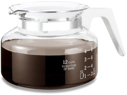 Medelco 12 Cup Glass Traditional Style Universal Replacement Carafe