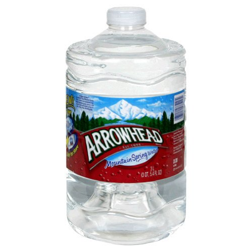 Arrowhead Water Spring, 3Ltr (Pack of 6)
