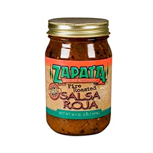 Zapata, Salsa Fire Rstd Red Hot, 16 OZ by Zapata