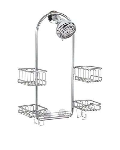 InterDesign Classico Swing Shower Caddy, Silver