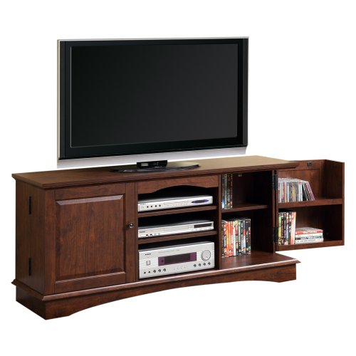 Cheap 60″ Wood Game TV Media Stand Console, Traditional Brown (B008DZ1SSW)