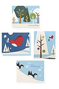 Good Paper Variety 4-pack Fair Trade Recycled Holiday Greeting Cards