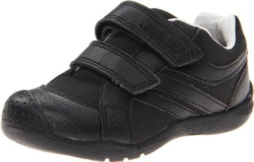 Pediped Flex Charleston Sneaker (Toddler/Little Kid),Black,23 Eu (7 E Us Toddler)