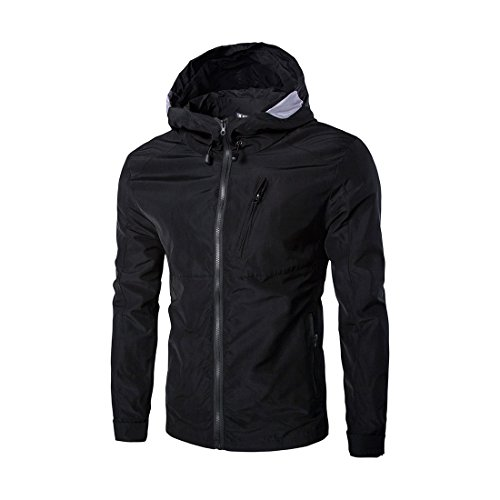Allegra-K-Men-Zipper-Drawstring-Full-Lined-Waterproof-Windbreaker-Hoodie-Jacket