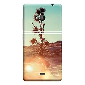 Ebby Premium Printed Mobile Back Case Cover With Full protection For Microsoft Lumia 535 (Designer Case)