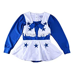 Dallas Cowboys Baby Infant Cheerleader One-Piece Uniform by NFL