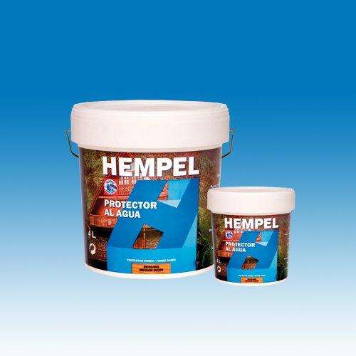 HEMPEL'S LASUR MADERA COLOR AL AGUA INCOLORO 1 L.