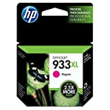HP 933XL Magenta Original High Capacity Printer Ink Cartridge HP933XL - Fits HP Officejet 6100, 6600, 6700,
