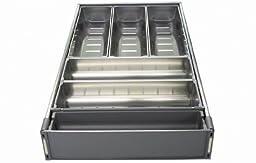 Blum ZHI.533BI3A TANDEM ORGA-LINE Wide Drawer Cutlery Set for 21\