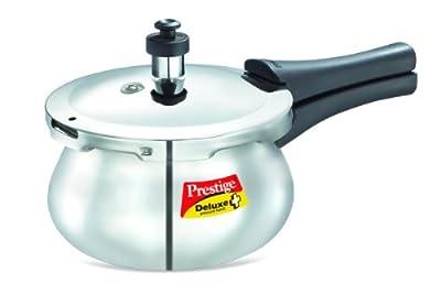 Prestige Deluxe Stainless Steel Baby Handi Pressure Cooker, 2-Liter from Prestige