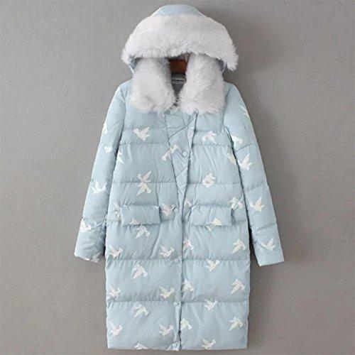 YUYU-paissie-Down-Jacket-Coat-Ides-cadeaux-Bleu