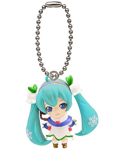 Bandai Vocaloid Hatsune Miku Petit Figure Swing 02 Snow Miku 2015 雪ミã'¯ Figure