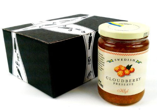 Hafi Cloudberry Preserves, 14.1 oz Jar in a Gift