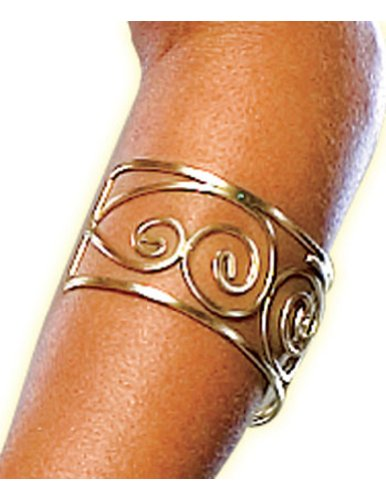 Costume-Accessory 300 Spartan Queen Arm Cuff Halloween Costume Item - 1 size