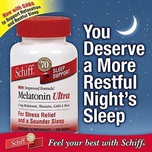 Schiff Mélatonine Ultra Comprimés support du sommeil - 300 ct.