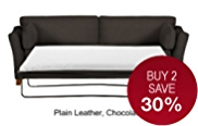 Fenton Large Sofa Bed - Leather