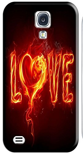 Phone Accessories Lovely 26 Fire Letter Character Cute Design Special For Samsung Galaxy S4 I9500 No.27
