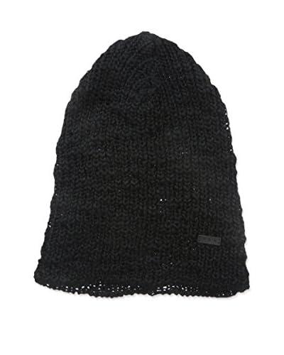 John Varvatos Star U.S.A Men's Slub Knit Hat, Black