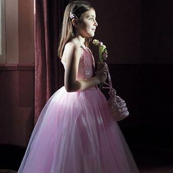 Pink Deluxe Sequin Ballgown - Kids Costume 3 - 4 years