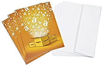 Amazon.co.uk £5 Gift Cards - 3-Pack with Greeting Cards (Amazon Boxes)