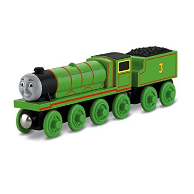 Thomas Wooden Railway - Henry The Green Engine by Fisher-Price Thomas