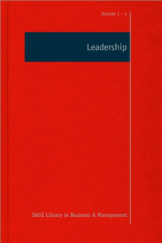 Leadership (SAGE Library in Business and Management)