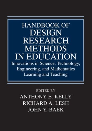 Handbook of Design Research Methods in Education:...
