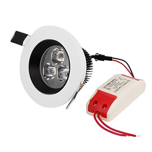 Ac 85-265V 3W Non Glare 3 Leds White Led Light Downlight Lamp Bulb