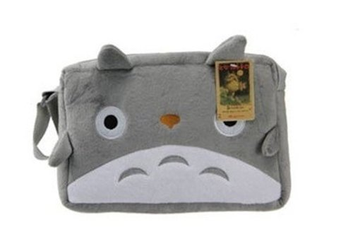TheWin My Neighbor Totoro Plush Shoulder Messenger Hand Bag Purse Grey