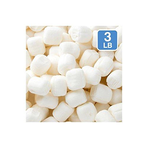 3 Pounds Party Sweets White Buttermints, Buttery Mint Candy (One Bag)
