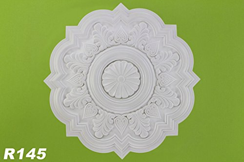 1-rosette-deckenrosette-polyurethane-stuck-dekorrosette-stossfest-oe53cm-r145