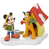 Department 56 Disney Village a Special Snack for Pluto Village Accessory, 3-Inch
