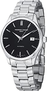 Frederique Constant Classic Black Dial Stainless Steel Mens Watch FC-303B5B6B from Frederique Constant