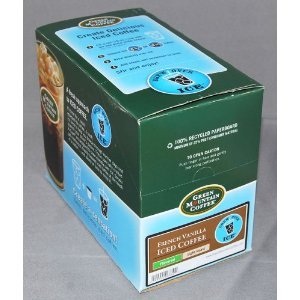 Green Mountain French Vanilla Iced Coffee 44 K-Cups For Keurig Brewers front-538558