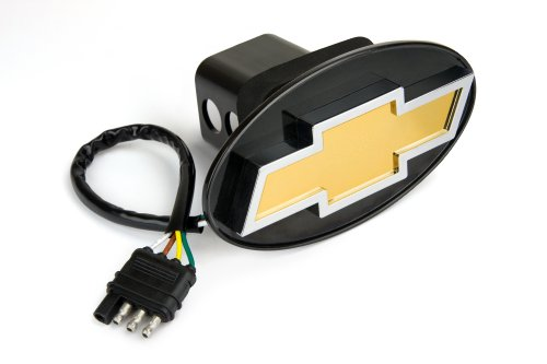 Reese Towpower 86062 Licensed LED Hitch Light Cover with Chevy Bow Tie Logo (Reese Receiver Hitch Cover compare prices)
