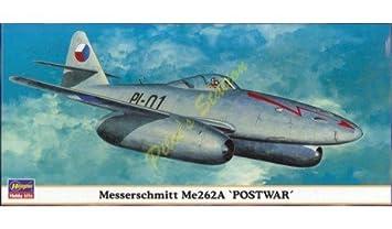 Maquette avion: Messerschmitt ME262A Postwar