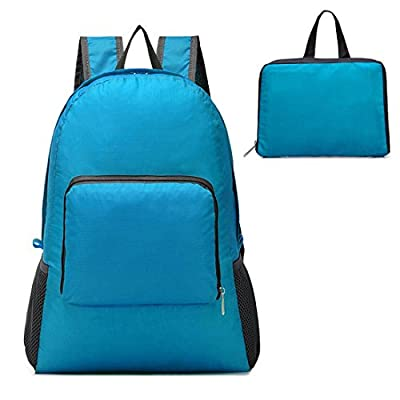 American Trends Unisex Ultra Lightweight Foldable Backpack Folding Hiking Daypack
