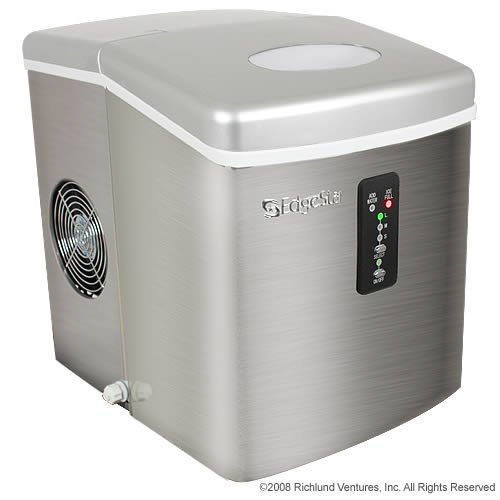 EdgeStar IP210SS1: Portable Stainless Steel Ice Maker for Supporting Your Outdoor Activities