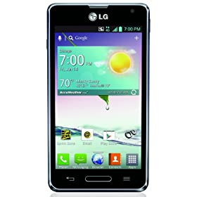 LG Optimus F3, Titanium (Sprint)