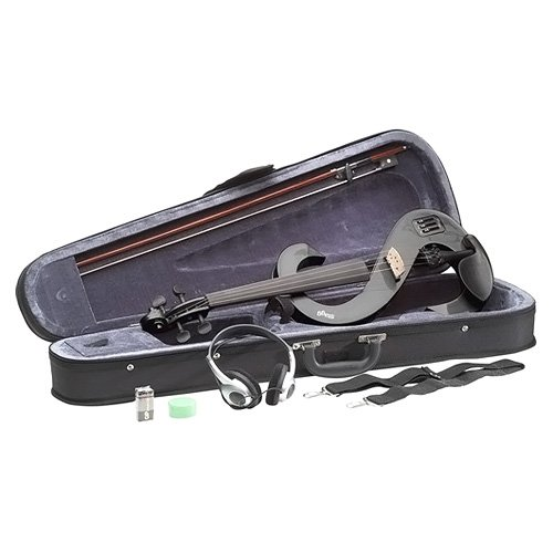 stagg-evn-4-4-mbk-violino-elettrico-completo-4-4-nero-metallizzato