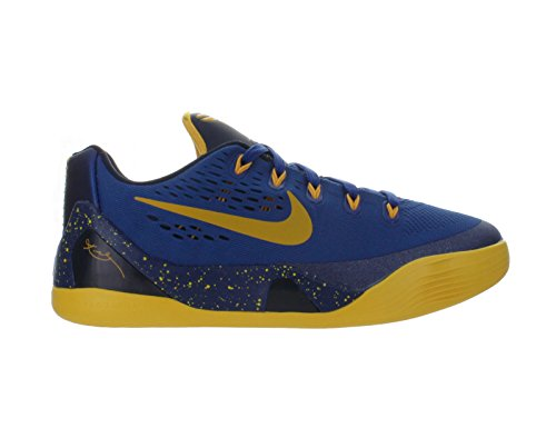 Nike Kid's Kobe IX (GS), GYM BLUE/UNIVERSITY GOLD-OBSIDIAN, Youth Size 5 (Kobe Shoes Kids compare prices)