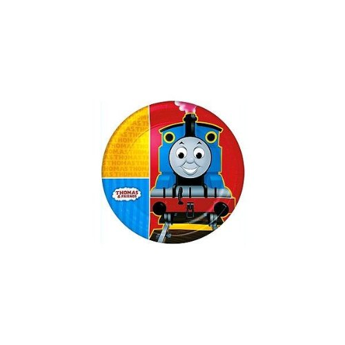 Thomas and Friends Large Paper Plates (8ct) - 1