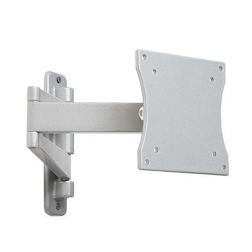 videosecu articulating swing arm wall mount for 15 inch to 22 inch tv lcd monitor flat panel and. Black Bedroom Furniture Sets. Home Design Ideas