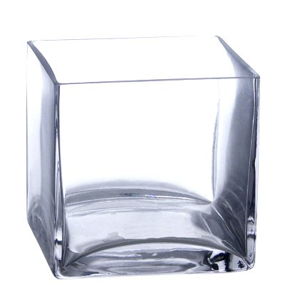 Large Glass Floor Vases Bulk 12 Pieces 5 Clear Glass Square Vase