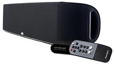 Paradigm SHIFT Series Soundscape Full Powered Soundbar with apt-X Bluetooth (Black)