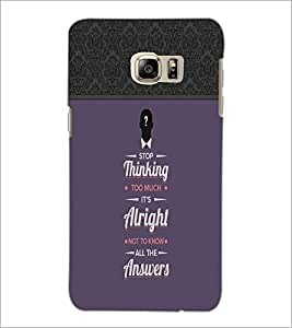 PrintDhaba Quote D-3717 Back Case Cover for SAMSUNG GALAXY NOTE 5 EDGE (Multi-Coloured)