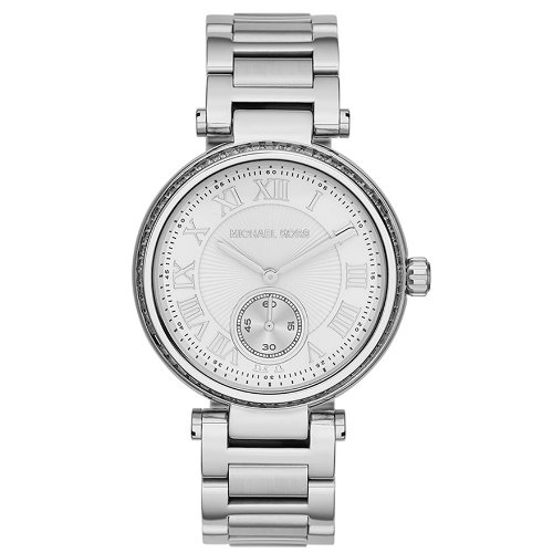 Michael Kors Skylar Silver Dial Stainless Steel Ladies Watch MK5866