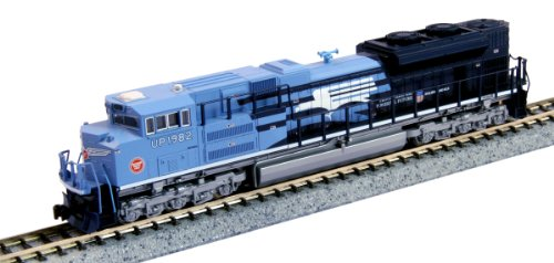 Kato Usa Model Train Products Emd Sd70Ace #1982 Up Heritage Missouri Pacific N Scale Train