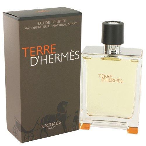 Hermès Terre D'Hermes by Hermes Eau De Toilette Spray 3.4 oz for Men by Hermes